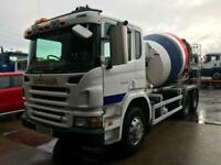 2005 SCANIA P270 6x4 CEMENT MIXER MANUAL GEARBOX