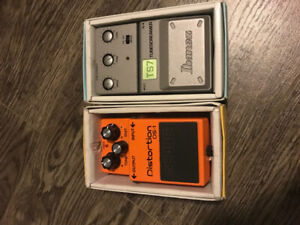 Guitar Pedals For Sale: Boss DS1 & Ibanez TS7 Tubescreamer