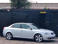 * 2004 AUDI A4 1.8T CVT AUTOMATIC S LINE + 6CD CHANGER + ALLOYS + HALF LEATHER*