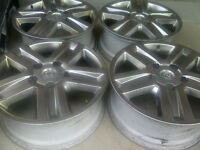 TOYOTA TUNDRA 2010 FACTORY 20 INCH ALLOY RIM SET OF FOUR