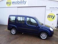 Fiat Doblo Scooter Wheelchair Disabled Access Car WAV