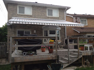 Adalia X3M Extenda Awning for outside patio