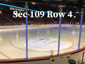 2 Tickets - Vancouver Canucks - Lower Bowl Row 4 - Many Games