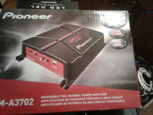 pioneer 500w 2 channel amp