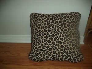 several animal print pillows $3.00 each