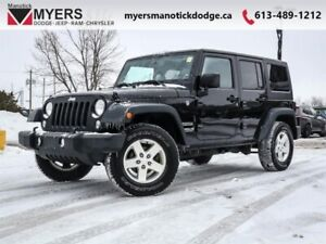 2015 Jeep Wrangler Unlimited SPORT  - Cruise Control - $239.59 B