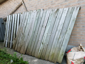 Free - Fence Sections (3)