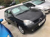 Renault clio 1.1 98,000 miles, 12 months mot, 6 months warranty