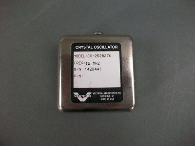Vectron Crystal Oscillator Co-252b27k 12 Mhz -new Old Stock