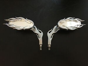 Custom Chrome Motorcycle Mirrors