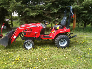 Compact Utility Tractor - Massey GC2600