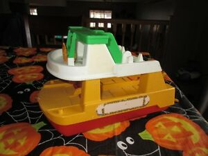 Antique Fisher Price Ferry Kitchener / Waterloo Kitchener Area image 1