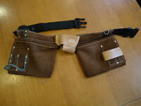 Solid Leather Tool Apron