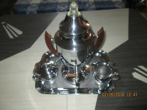 Vintage Chrome Plated Coffee Percolator