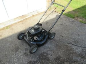 20 INCH MOWER WITH 3.5 BRIGGS CLASSIC $50.00