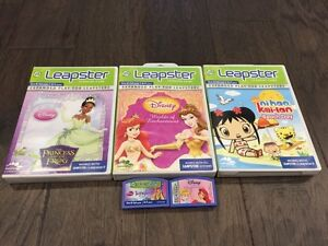Leap Frog Leapster Games