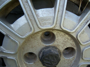 "VOLKSWAGEN/ AUDI 13"" MAG WHEEL 4 BOLT PATTERN Strathcona County Edmonton Area image 2"
