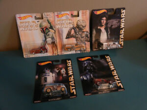 Hot Wheels Star Wars Pop Culture Cars With Real Riders Lot