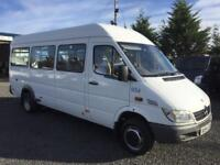 Mercedes-Benz SPRINTER minbus 2.2 411 CDI 1 owner from council only 101903 miles