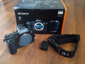 sony A7II body for $800 only
