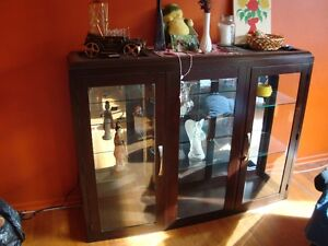 Lighted Display Cabinet. Price is OBO.