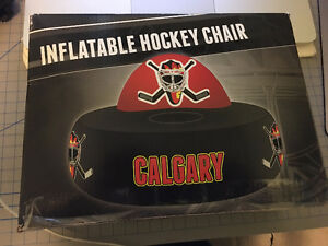 Vancouver Canucks Inflatable Hockey Chair