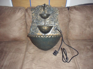 OUTDOOR WATER FOUNTAIN(sell or trade )