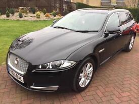 Jaguar XF 2.2TD (163ps) Luxury (s/s) Sportbrake 5d 2179cc Auto