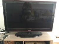 "Samsung 40"" flat screen tv"