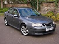 EXCELLENT DIESEL!! 2007 SAAB 9-3 1.9 TiD 150 VECTOR SPORT 4dr, PARKING SENSORS,