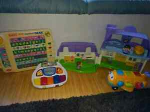 Assorted child toys, all offers considered.