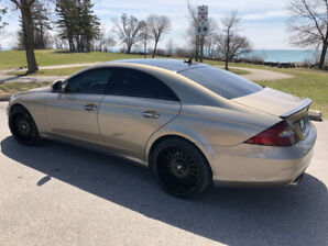 CLS 550 AMG package! FORGIATO rims!! Never winter driven!!!