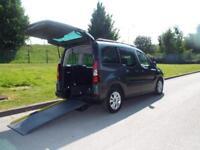 Citroen Berlingo 1.6HDi 90hp XTR Wheelchair accessible vehicle WAV