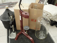 Misc Wine Making Equipment For Sale