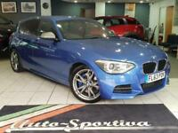 2013 BMW 1 Series 3.0 M135i M Sports Hatch (s/s) 5dr Petrol blue Automatic