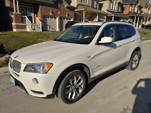2012 BMW X3 x28i Xdrive Pano Sunroof, Leather, SUV, Crossover