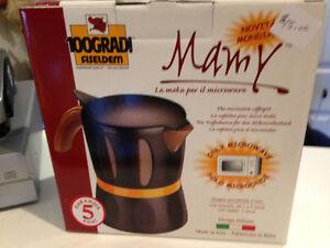 Mamy , microwave coffee maker