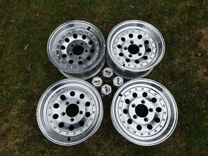 "Four Ion 14"" Polished Alloy Wheels 5x114.3"