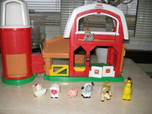 "FERME SONORE ""FISHER PRICE"""