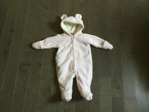 Old Navy Fleece Snowsuit
