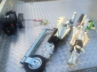 Ifor Williams trailer heavy duty jockey wheel Hudson Nugent Dale kane