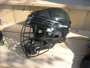 Bauer adult helmet with Lacrosse cage London Ontario image 2