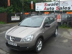 2008 NISSAN QASHQAI TEKNA 1.5dCi ONLY 109,381 MILES,1 OWNER,FULL SERVICE HISTORY