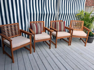 Brand NEW Patio Dining Chairs!