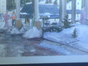 2 Framed Prints of Whistler Blackcomb by Sue Quarles North Shore Greater Vancouver Area image 3