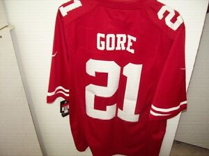 Frank Gore San Francisco 49ers NFL Jersey New w/Tags