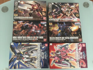 Selling Gundam Model Kits