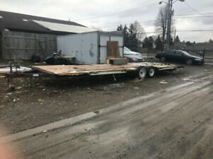 Trailer Chassis 35 ft . Base for LOVE SHACK!!