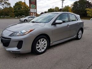 2012 MAZDA 3 SKYACTIV 5-Door Hatchback 6 Speed Manual