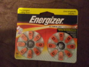 Energizer Hearing Aid Batteries for sale